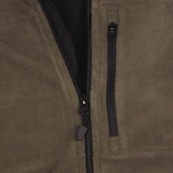 Farmall IH Men's Zip-Front Olive Arctic Fleece Jacket - Thumbnail 2