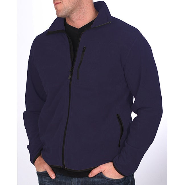 Farmall IH Men's Navy Blue Arctic Fleece Jacket - Free Shipping On ...