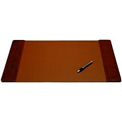 Dacasso P1028 Classic Top-grain Leather Desk Pad (22 inches x 14 inches) (Option: Orange)
