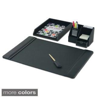 Dacasso Leather 4-piece Desk Set