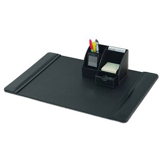 Dacasso Leather 2-piece Desk Set
