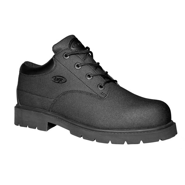 Lugz Men's 'Drifter Lo' Black Leather Work Boots