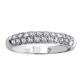 Beverly Hills Charm 10k White Gold 1/2ct TDW Diamond Band