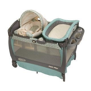 Graco Winslet Pack 'n Play with Cuddle Cove Rocking Seat