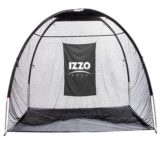 Izzo Giant Jr. Black Mesh-and-nylon Hitting Net with Metal Frame