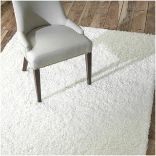 Ultra White Shag Rug (8' x 10')