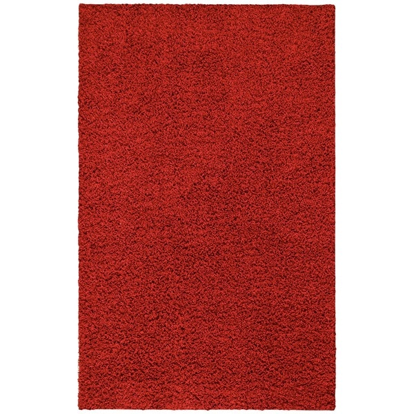 nuLOOM Ultra Red Shag Rug (5' x 8')