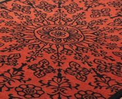 nuLOOM Handmade Big Medallion Wool Rug (5' x 8')