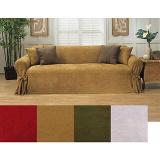 Classic Slipcovers Microsuede Loveseat Slipcover