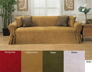 Classic Slipcovers Microsuede Chair Slipcover
