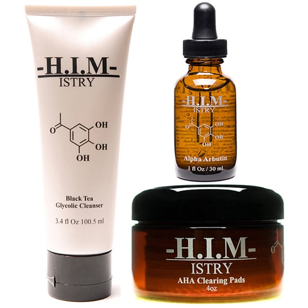 H.I.M. ISTRY Men's Anti-acne Set for Combination Skin