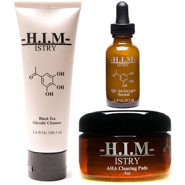 H.I.M. ISTRY Men's 3-piece Anti-aging Starter Set
