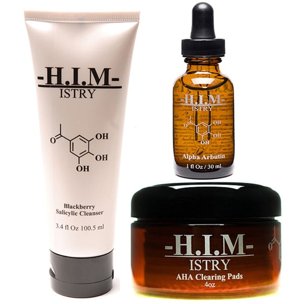 H.I.M. ISTRY Men's Anti-acne Set for Oily Skin