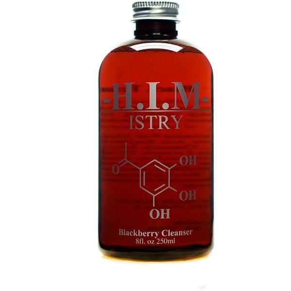 H.I.M ISTRY Men's 8-ounce Anti-acne Blackberry Salicylic Cleanser