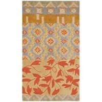 Safavieh Handmade Rodeo Drive Bohemian Collage Multicolored Wool Rug - multi - 2'6 x 4'6