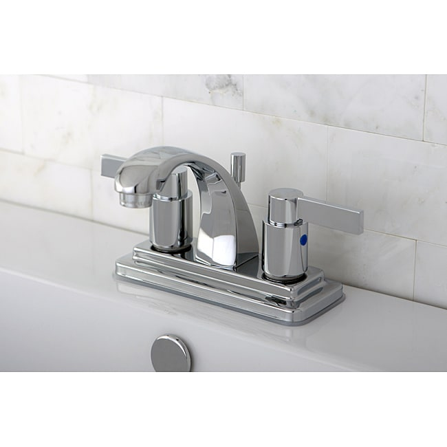 Nuvo Fusion Chrome 4-inch Center Bathroom Faucet