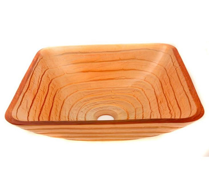 Sunray Glass Vessel Sink - Thumbnail 0