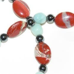 Susen Foster 'Real Men Wear Jasper' Gemstone Bracelet - Thumbnail 2