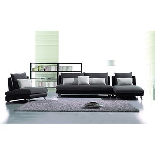Furniture of America Chaves Contemporary 3-piece Sofa Set