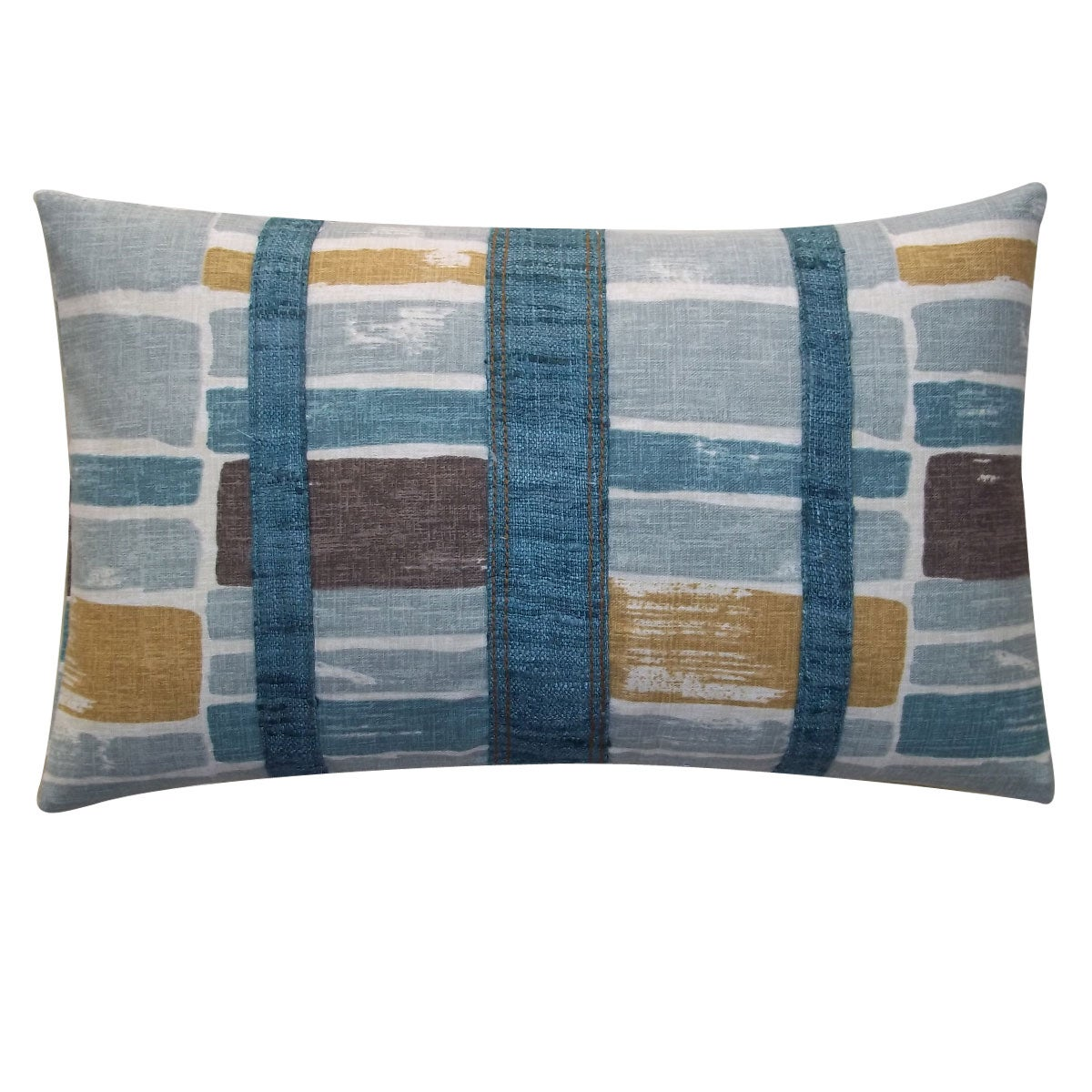 'Martin Patch' Throw Pillow