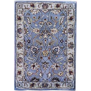 Herat Oriental Indo Hand-tufted Wool Rug (2' x 3')