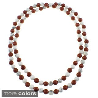 Pearlz Ocean 36-inch Endless Gemstone Necklace