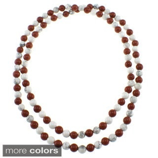 Pearlz Ocean 36-inch Endless Gemstone Necklace Jewelry for Womens (2 options available)