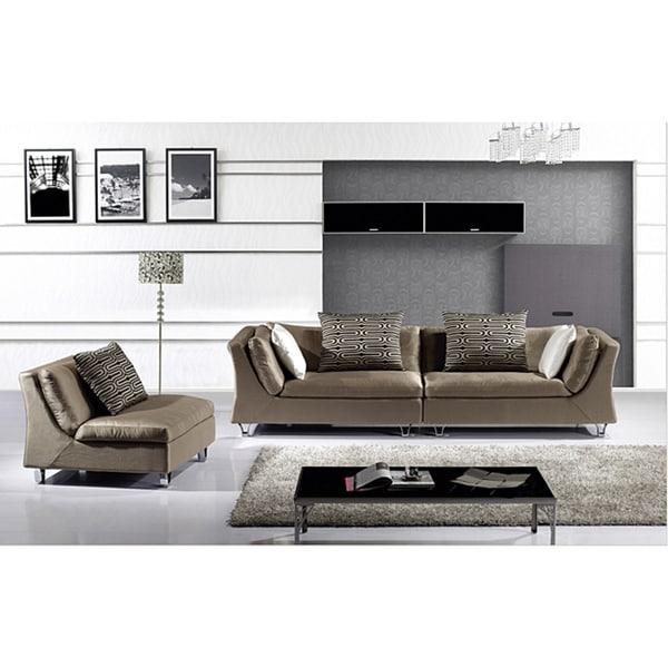 Furniture of America Daryle Contemporary 3-piece Sofa Set