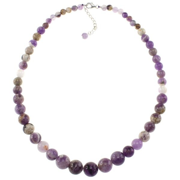 Pearlz Ocean Natural Amethyst Journey Necklace