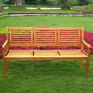 International Caravan Royal Tahiti 3-seater Balau Park Bench