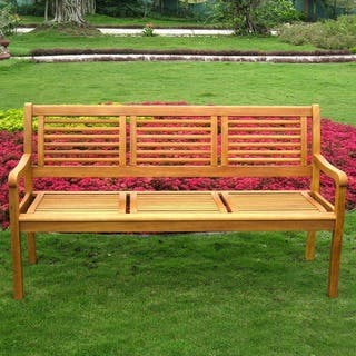Astonishing Buy Country Benches Outdoor Benches Online At Overstock Lamtechconsult Wood Chair Design Ideas Lamtechconsultcom