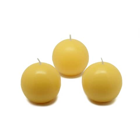 2 Inch Ball Candles (Case of 96)