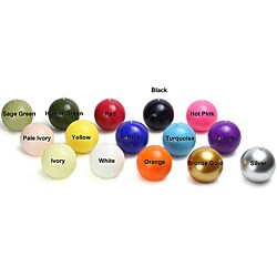 2 Inch Ball Candles (Case of 96) (More options available)