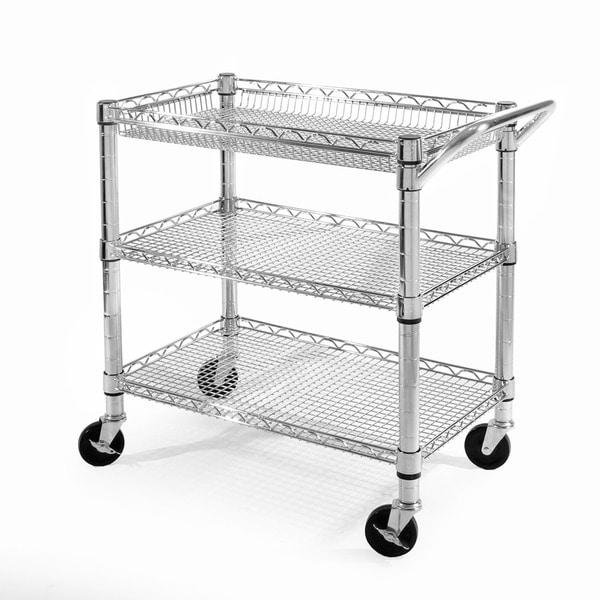 Seville Classics Heavy Duty Utility Cart - Free Shipping Today