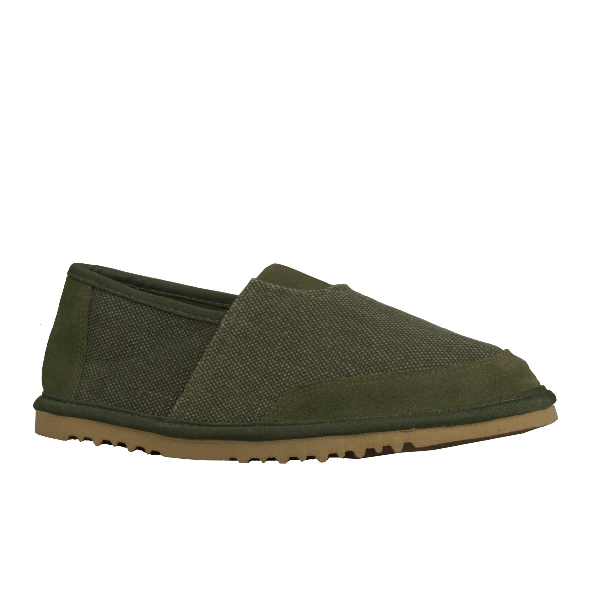 Lugz Men's 'Root' Canvas Suede Green Slip-on Shoes