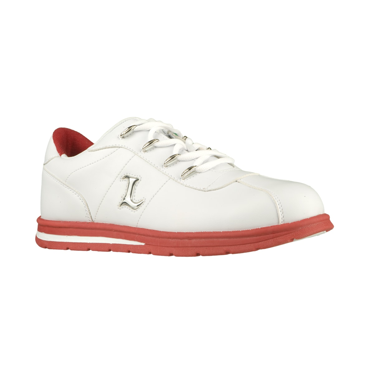 Lugz Men's 'Zrocs DX' Durabrush White/ Mars Red Sneakers