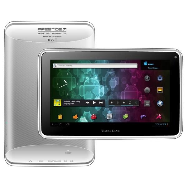 """Visual Land Prestige 7 ME-107-8GB Tablet - 7"""" - 512 MB DDR3 SDRAM - A"""
