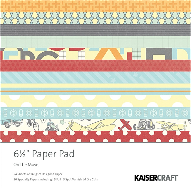 KaiserCraft 'On the Move' Paper Pad
