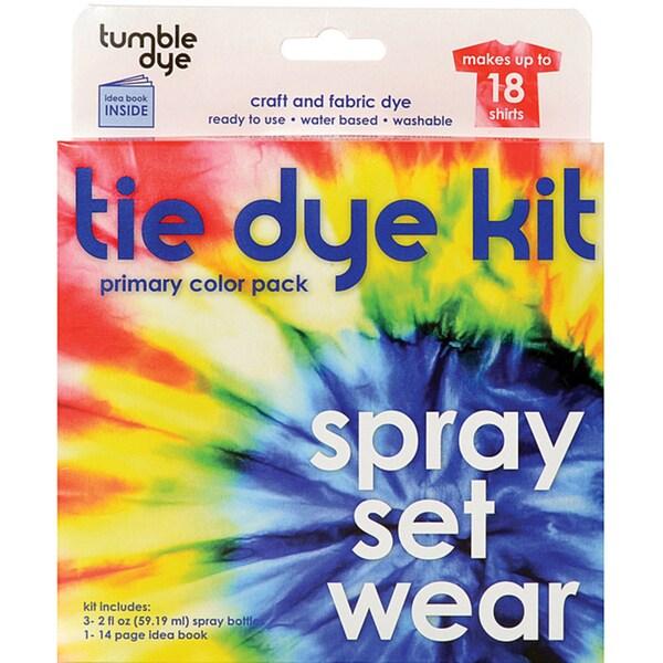 Tumble Dye Washable Nontoxic Water-based Craft And Fabric Dye Kit