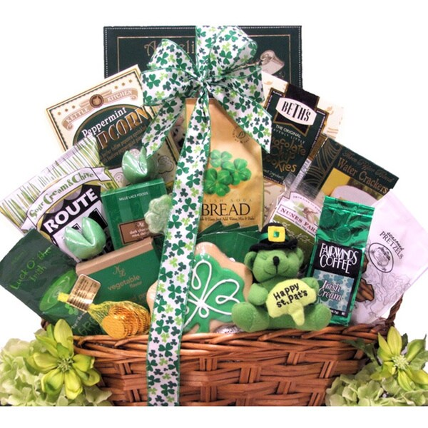 St. Patrick's Day 'Luck O' The Irish' Large Gourmet Gift Basket