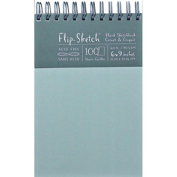 Flip-Sketch Blank Mist Sketchbook