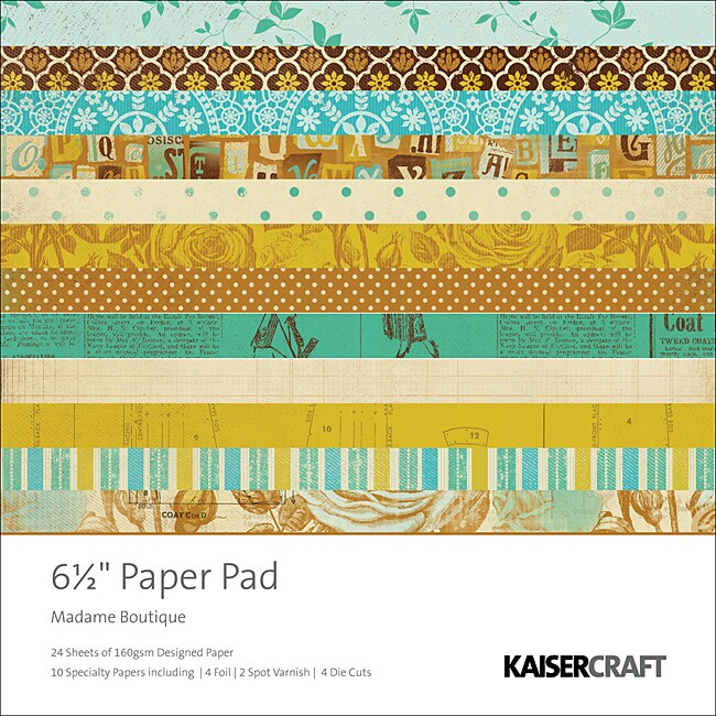 Madam Boutique Paper Pad