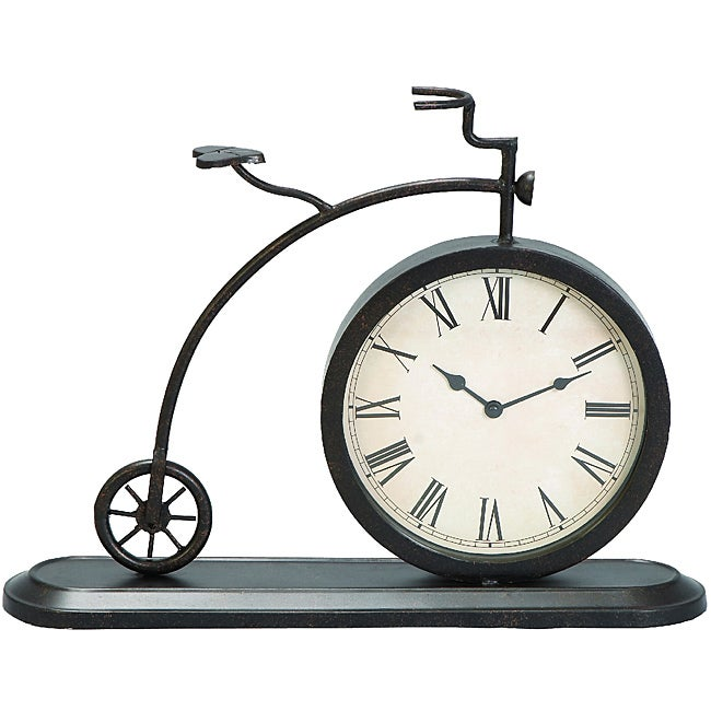 Old Fashioned Tricycle Tabletop and Mantle Accent Clock