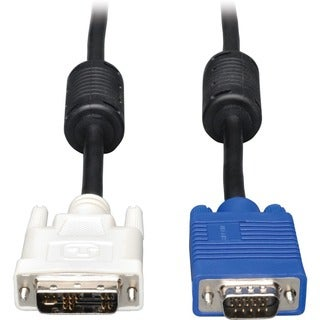 Tripp Lite DVI to VGA Monitor Cable, High Resolution cable with RGB C