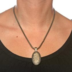 Isabella Collection Goldtone Crystal Necklace
