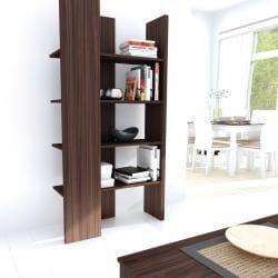 Sonax Ebony Pecan Open Ended Storage Shelf