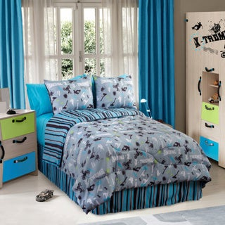 Action Sports Twin-size 3-piece Comforter Set