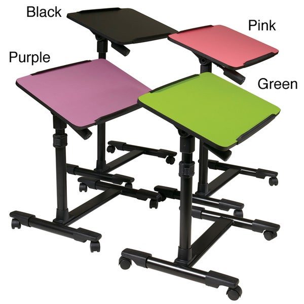 Ordinaire Office Star Products Mobile Laptop Cart With Adjustable Top