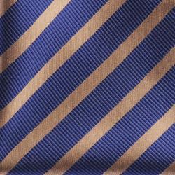 Boston Traveler Men's Tonal Diagonal Stripe Tie and Hanky Set