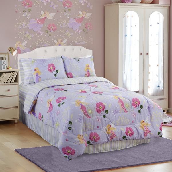 Glow In The Dark Magic Fairy 4-piece Full-size Comforter Set